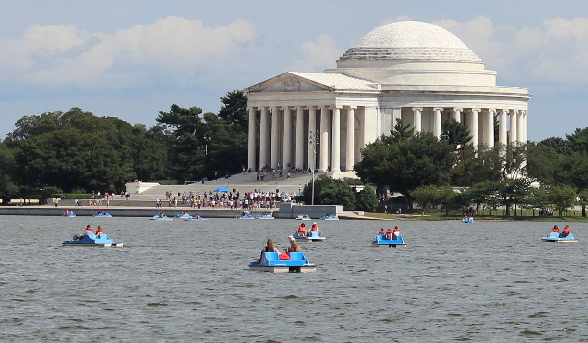 Jefferson memorial DC