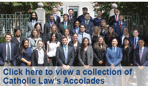 Catholic Law Accolades