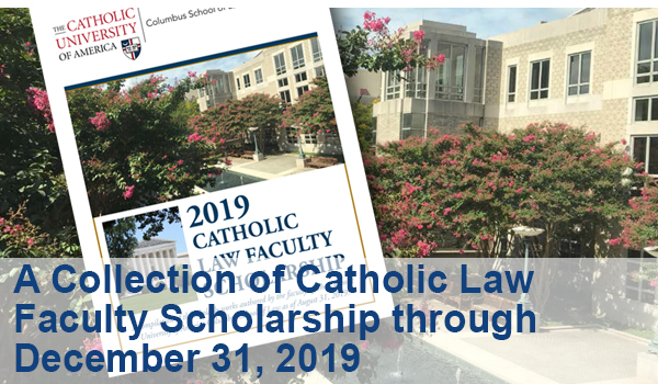 Faculty Scholarship through December 31, 2019