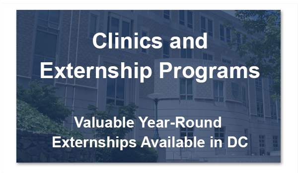 Clinics and Externship Programs