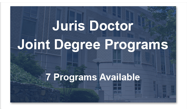 Juris Doctor Joint Degree Programs