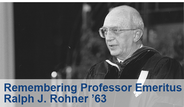 Remembering Ralph Rohner