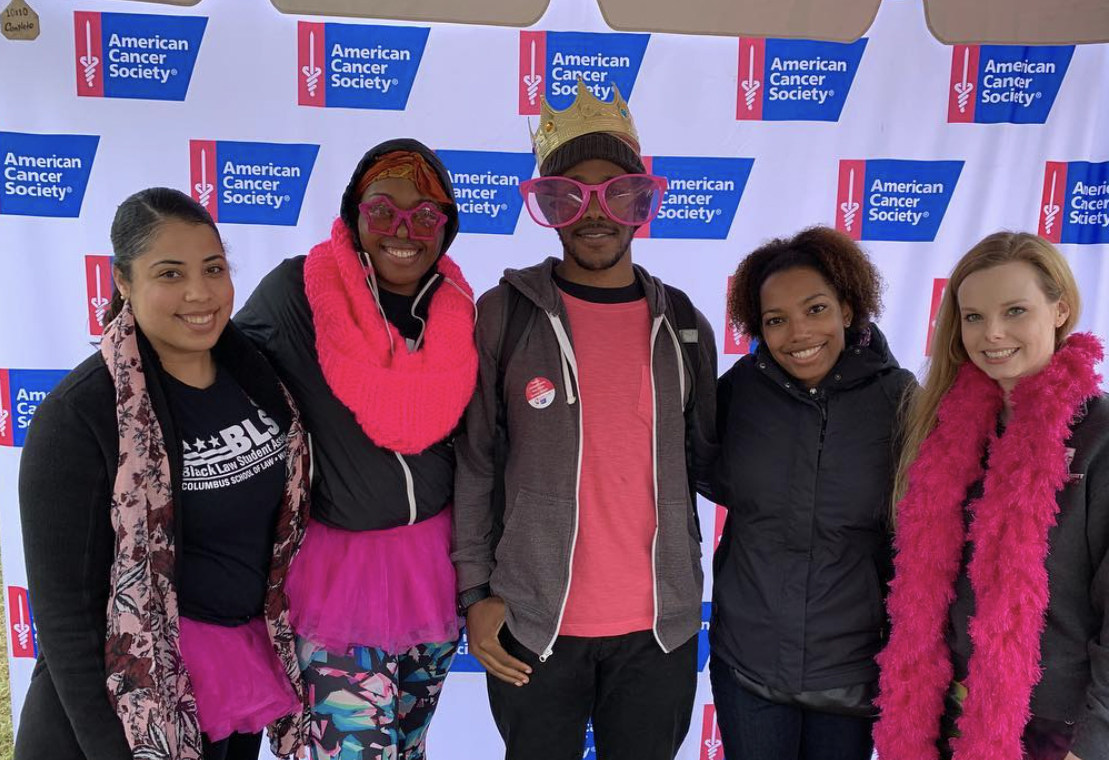 Black Law Students Association at Annual Making Strides Against Breast Cancer Walk
